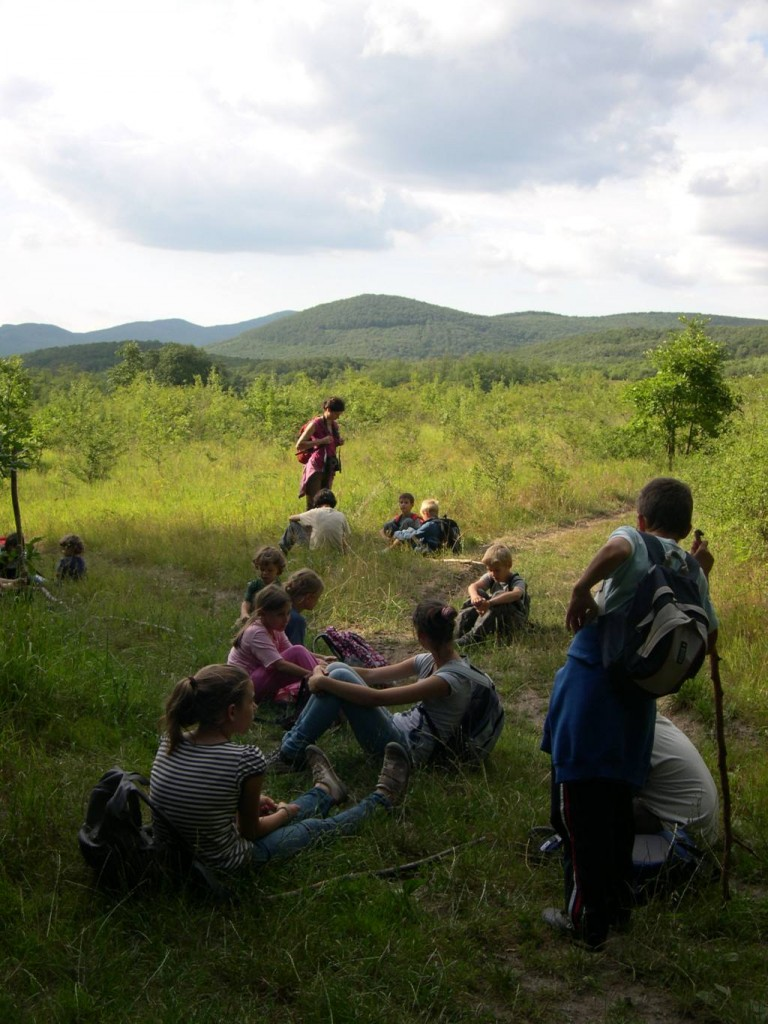 Kilátás a Varga-rétekről