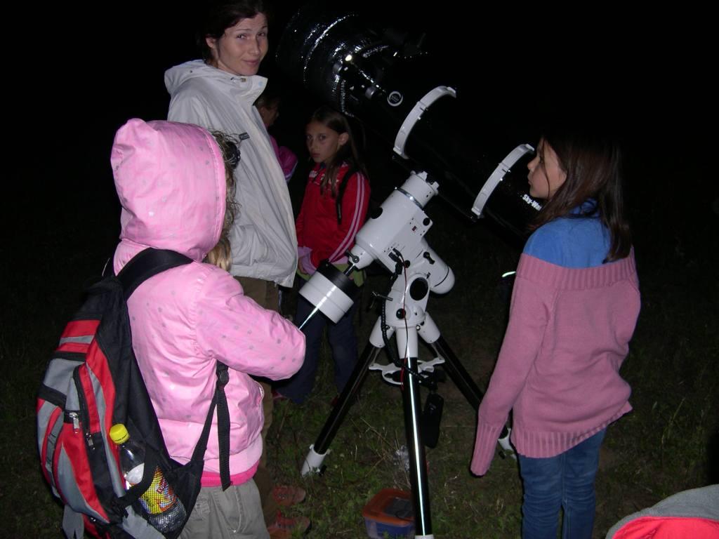 Csillagászat nagytávcsővel